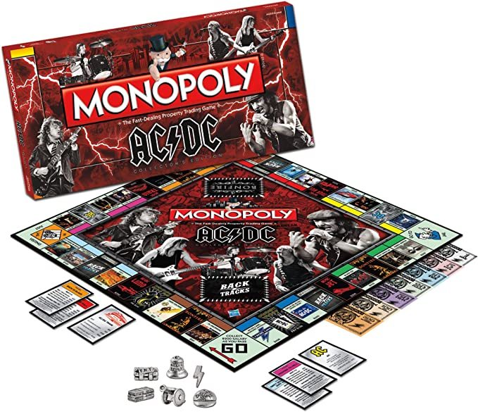 Import Anglais]AC/DC Monopoly Board Game: Amazon.es: Juguetes y juegos