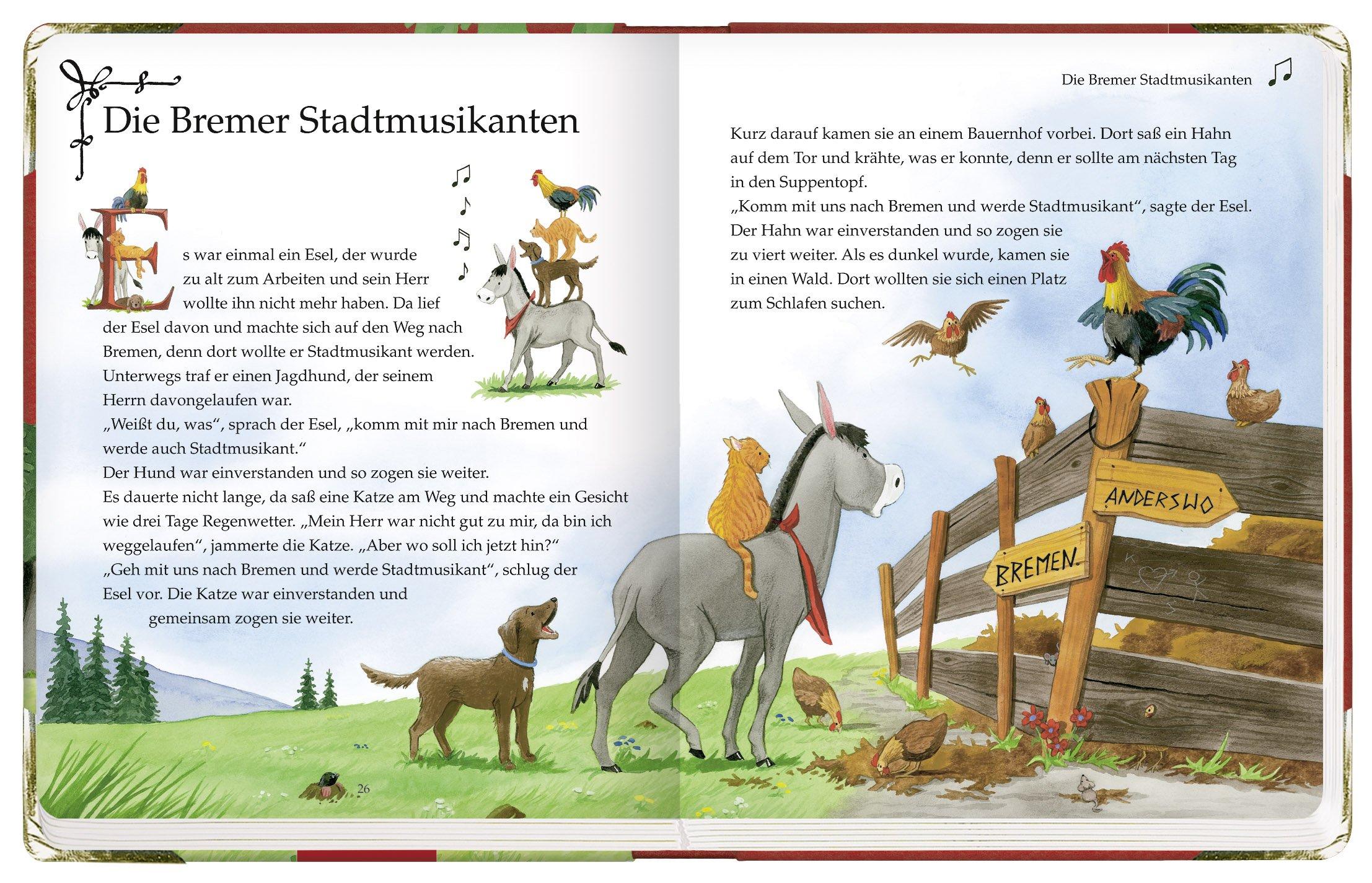 Es war einmal ... Meine ersten Märchen der Brüder Grimm (Bücher für die Kleinsten) Pappbilderbuch – 1. Dezember 2011 Jacob Grimm Wilhelm Grimm Kerstin M. Schuld Coppenrath