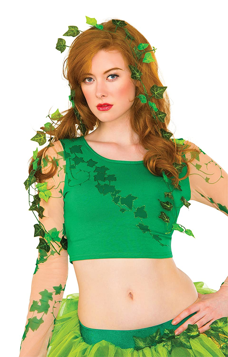 Batman DC Comics Poison Ivy Leaves 36' Vine Costume Accessory Rubies 38038