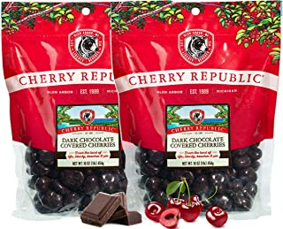 product image for Cherry Republic Dark Chocolate Cherries - Authentic & Fresh Chocolate Covered Cherries Straight from Michigan - 2 x 16 Ounces