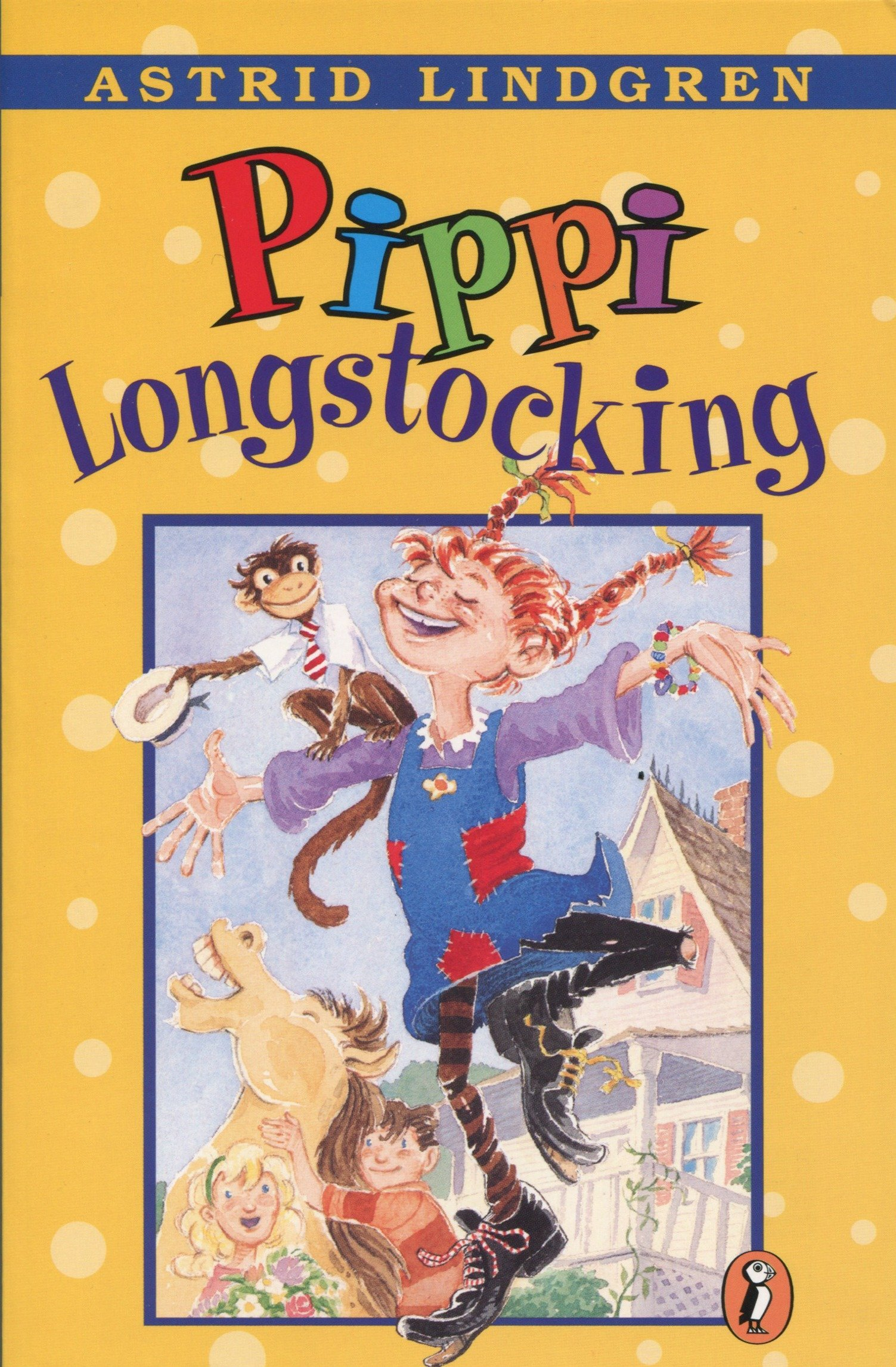 Checking Out Pippi Longstocking From >> Buy Pippi Longstocking Book Online At Low Prices In India Pippi