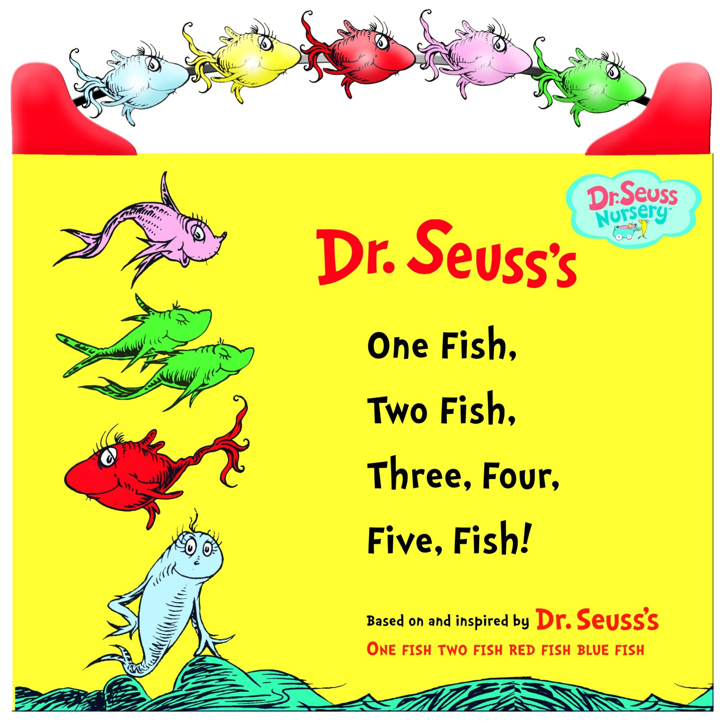 Amazon One Fish Two Three Four Five Dr Seuss Nursery Collection 9780375833878 Books