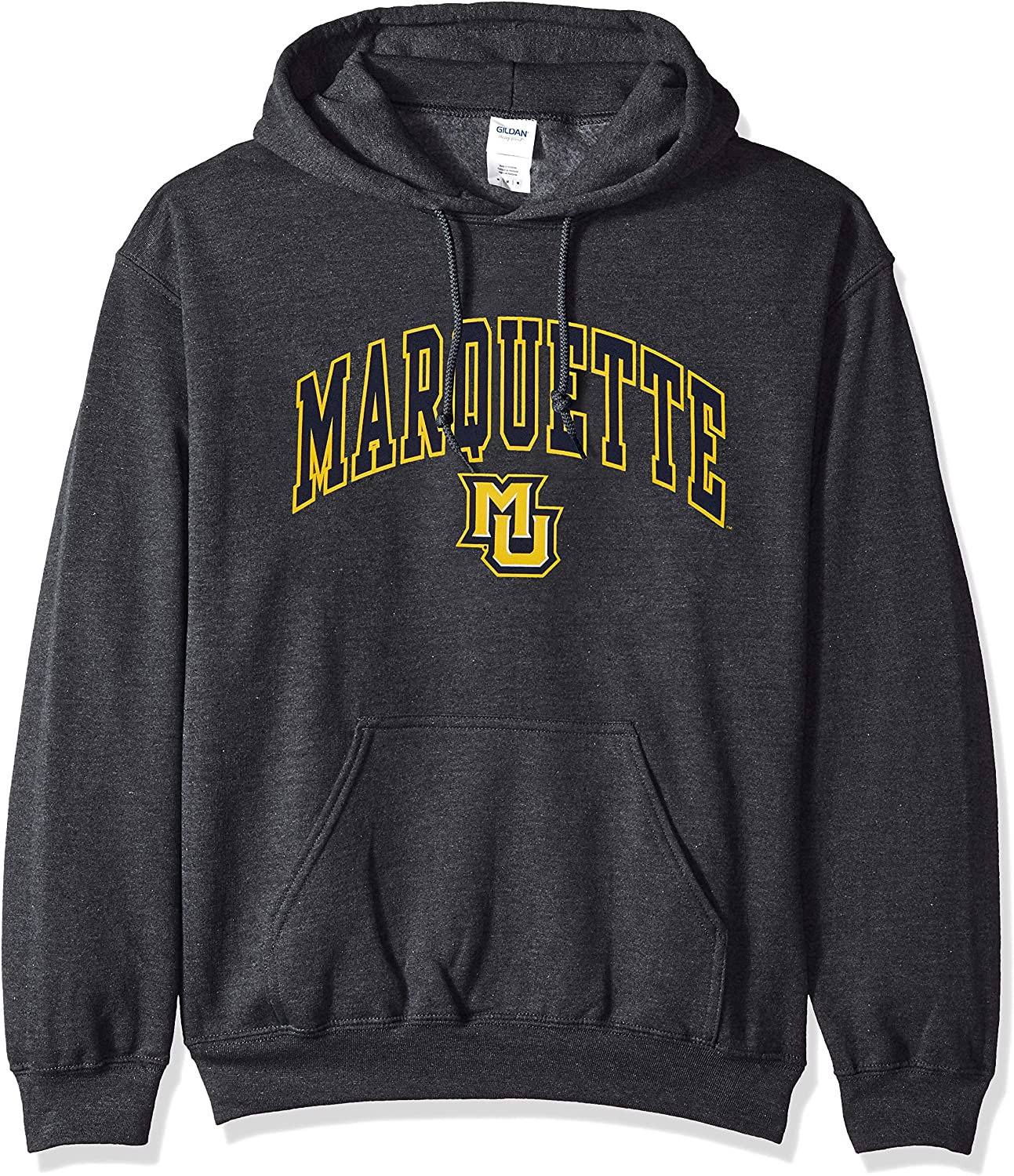 Elite Fan Shop NCAA Hoodie Sweatshirt Dark Heather Arch