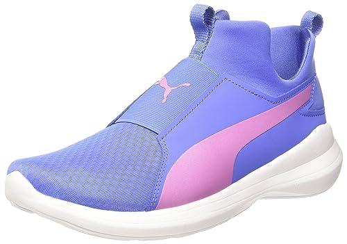5e46d22a0874 Puma Women s Rebel Mid WNS Baja Blue-Smoky Grape Sneakers - 7 UK India