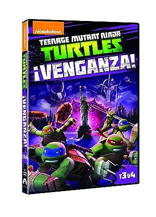 Teenage Mutant Ninja Turtles 3.4: ¡Venganza! [DVD]: Amazon ...