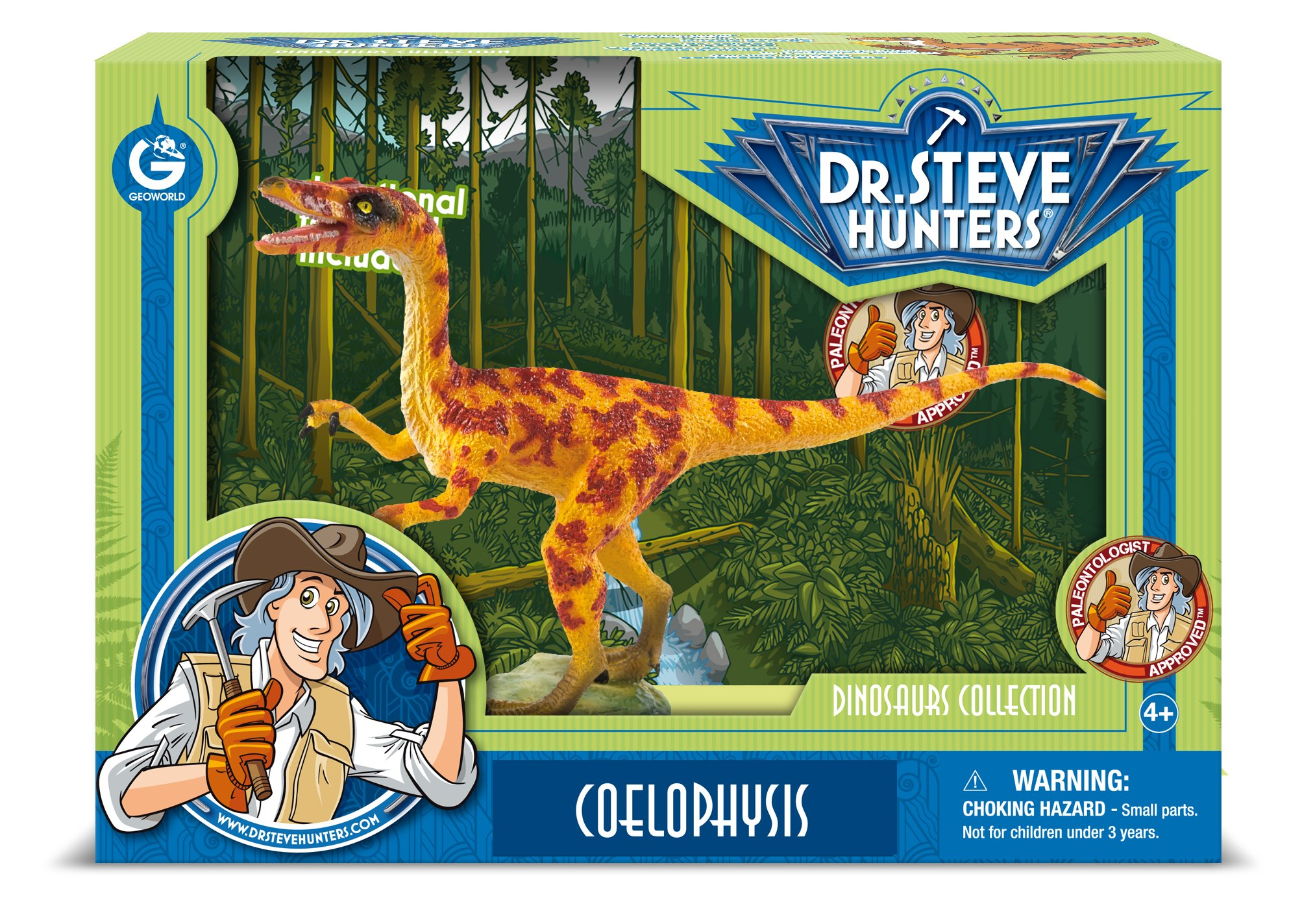 Dr. Steve Hunters cl1591 K - Collection of Dinosaurs: Model: Coelophysis