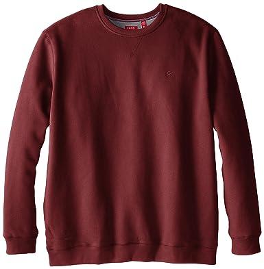 Amazon.com: IZOD Men's Big and Tall Long-Sleeve Fleece Sweatshirt ...