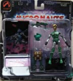 Micronauts Interchangeables- Space Glider action figure w/ wing pack & blaster by Palisades