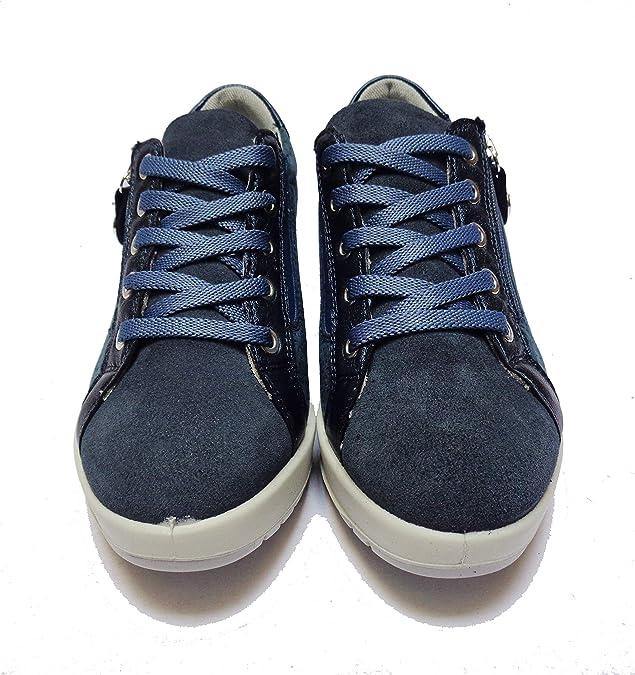ENVAL SOFT Scarpe da Donna Linea Comoda in camoscio Blu Altezza Zeppa cm. 5 1f05b052e6e