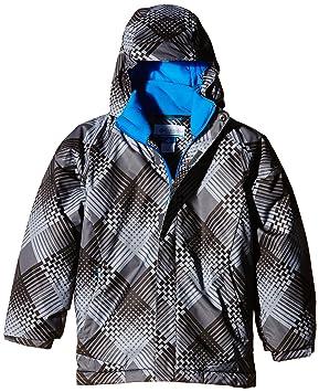 f73d58e11 Columbia Boy s Twist Tip Waterproof Jacket  Amazon.co.uk  Sports ...