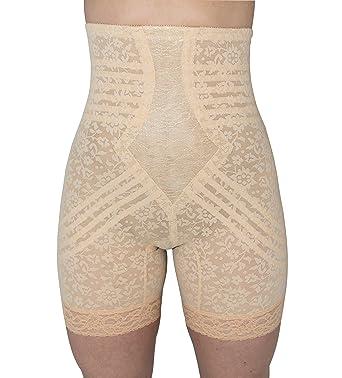 6f4707bd7b0 Rago Hi Waisted Long Leg Shaper Shapewear at Amazon Women s Clothing store   Thigh Shapewear