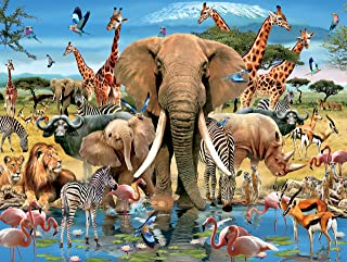 product image for Howard Robinson - Africana Puzzle - 1500 Pieces