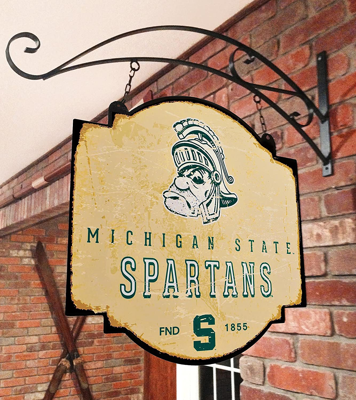 Winning Streak NCAA Michigan State University Vintage Sign