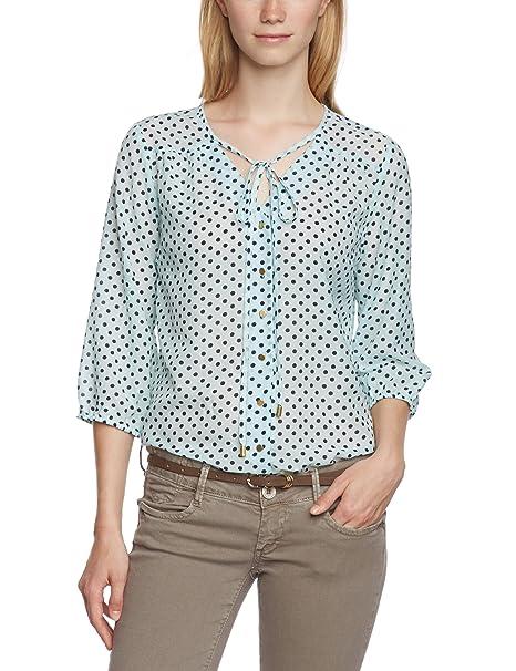 Vero Moda - Blusa con lunares de manga 3/4 para mujer, talla 38