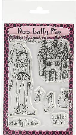 Sello A6 Keep Dancing Doo-Lally-Pip Clear Lindsay Mason Designs