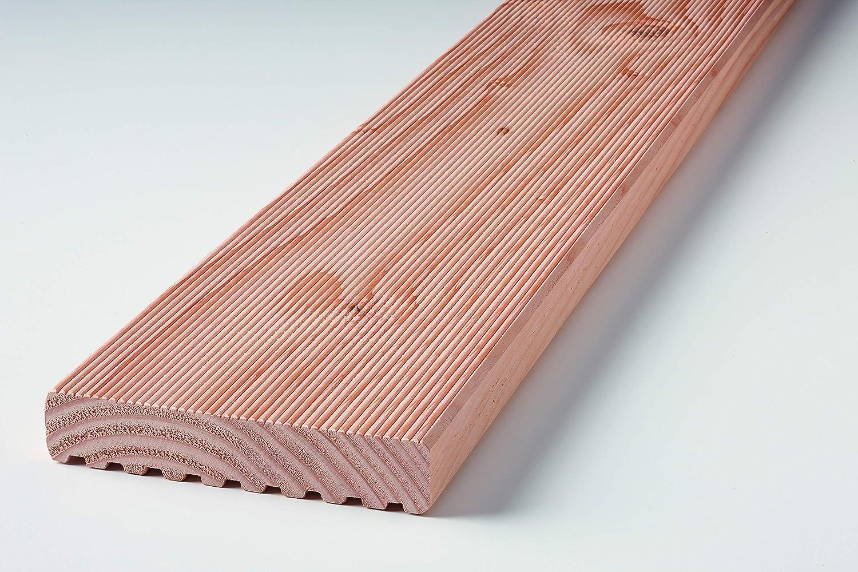 Klenk Holz 46227 Douglasie 28x120x2.000mm Terrassendiele 3 St/ück