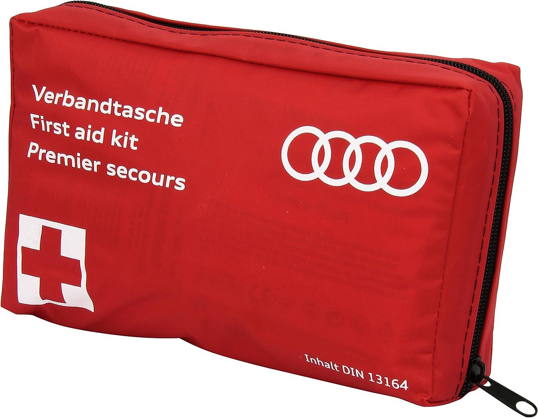 Amazon.es: Audi 4L0 093 108 B - Botiquín de Primeros Auxilios para automóvil, Conforme Norma DIN 13164B