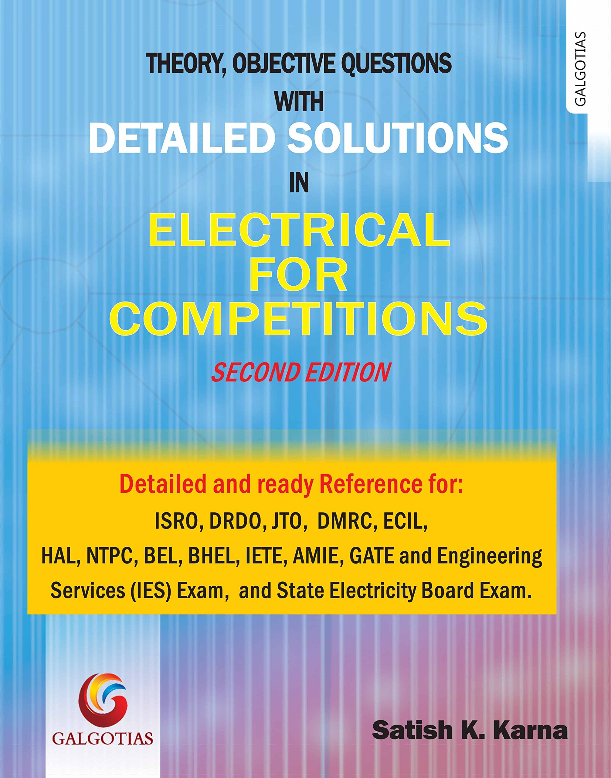 Buy detailed solutions in electrical for competitions second buy detailed solutions in electrical for competitions second edition 2017 book online at low prices in india detailed solutions in electrical for fandeluxe Choice Image