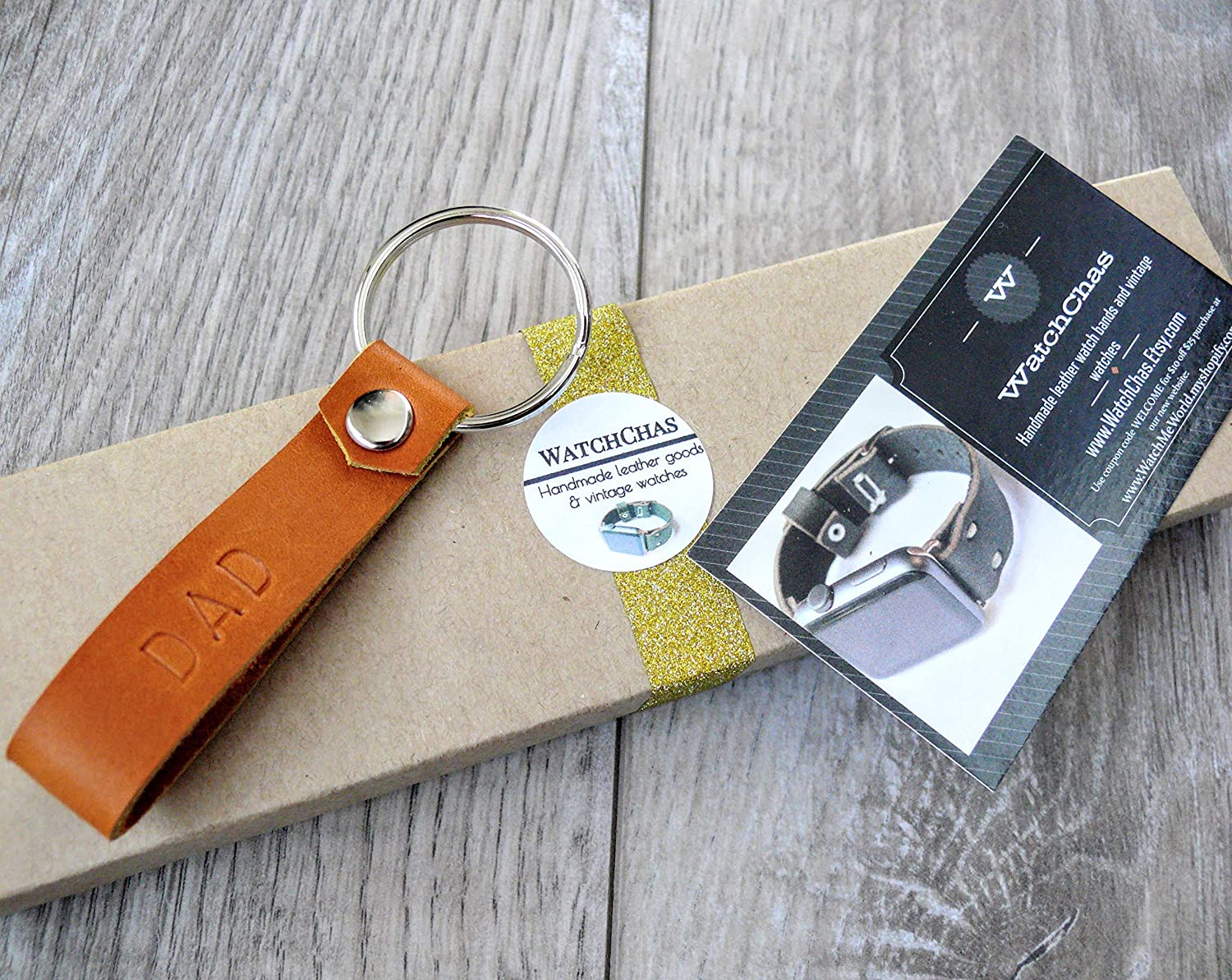 personalised key fob genuine leather key fob Personalized leather key fob hand stamped key chain hand crafted key chain