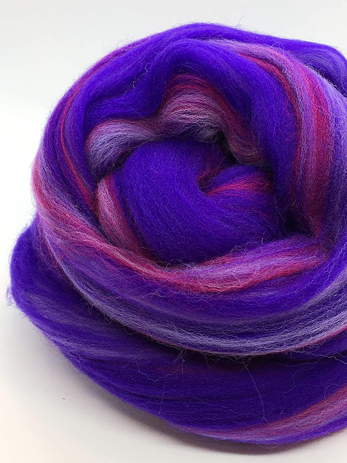Sheps Sea Glass Merino Wool Top Roving Fiber Spinning Felting Crafts USA 1 oz