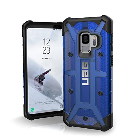 wholesale dealer 7be61 59aea URBAN ARMOR GEAR [UAG] Samsung Galaxy S9 [5.8-inch Screen] Plasma  Feather-Light Rugged [Cobalt] Military Drop Tested Phone Case