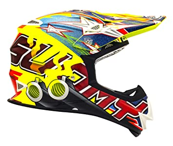 Suomy Casco Motocross MR Jump Shots, Multicolor (Shots Yellow), XL