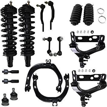 Detroit Axle Brand New 16pc Complete Front Suspension Kit For Chevy Trailblazer And GMC Envoy