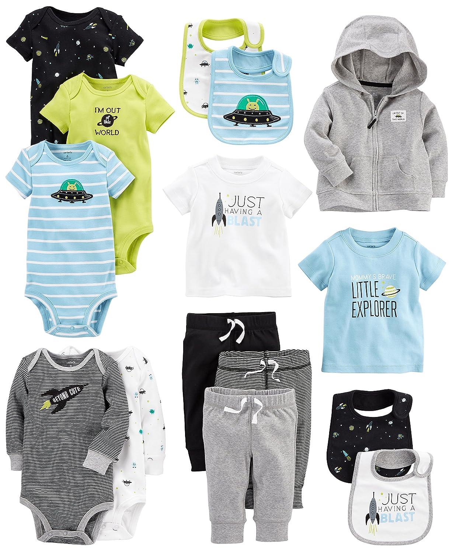 Carters Baby Boys 15-Piece Basic Essentials Set