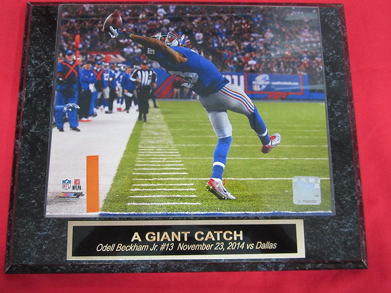 Amazon.com: Odell Beckham Jr New York Giants Collector Plaque #1 w ...