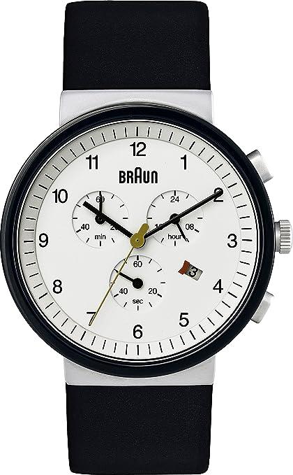Braun BN0035 - Reloj (Reloj de pulsera, Acero inoxidable, Acero inoxidable, Cuero