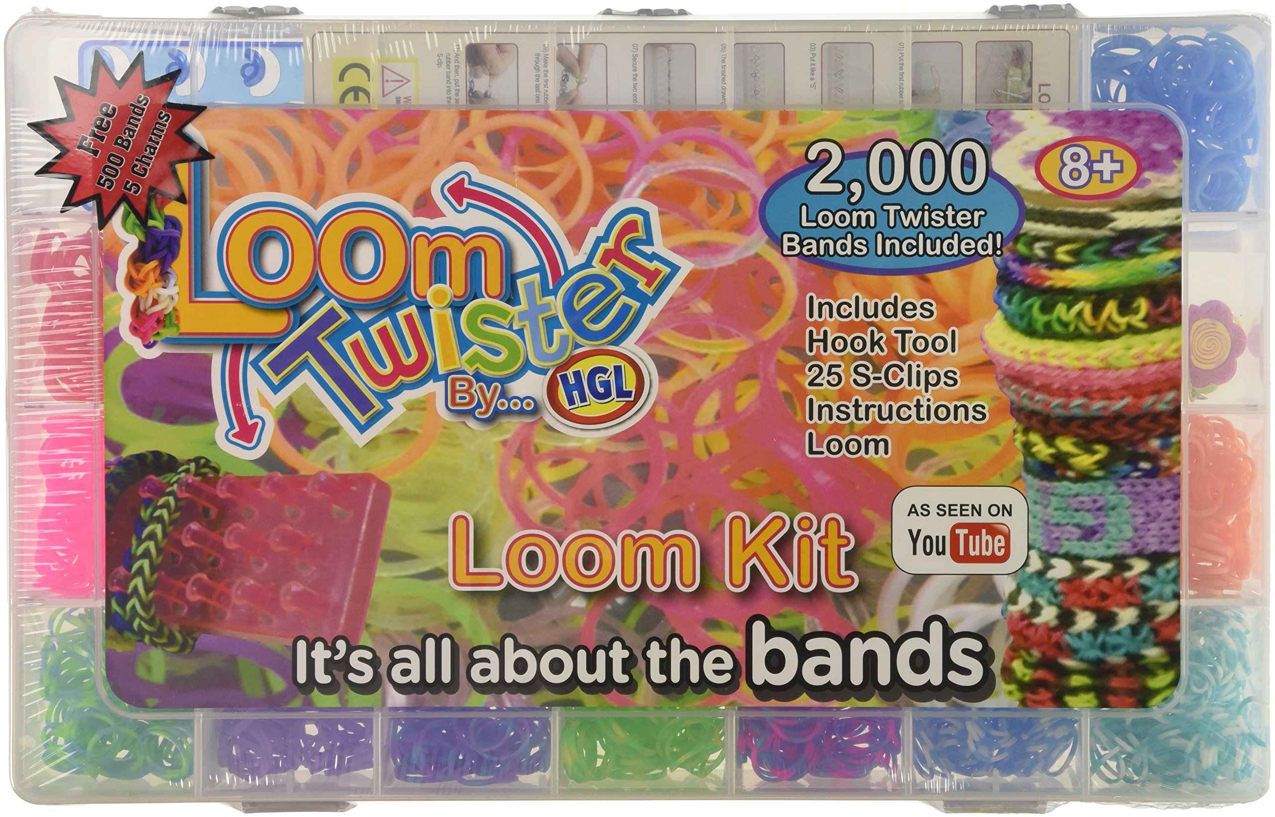 Loom Twisters Friendship Loom Bands Set (Large)