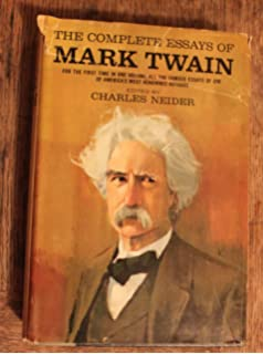 what is man and other essays mark twain amazon complete essays of mark twain