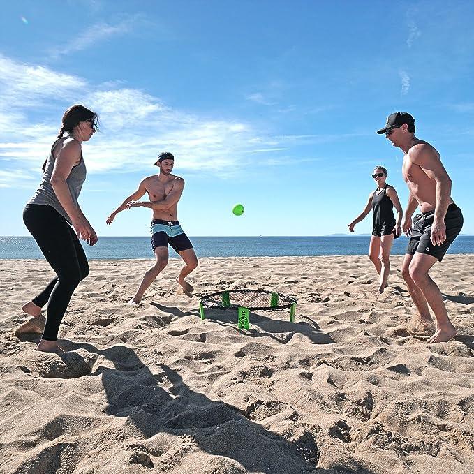 Go Sports Set de Juego Slammo (Incluye 3 Pelotas, Bolsa de Transporte y Reglas): Amazon.es: Deportes y aire libre