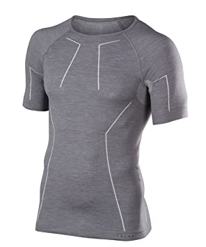 FALKE Calzoncillos Lana Tech Longsleeved Shirt Comfort Men Sport Ropa Interior, Primavera/Verano,