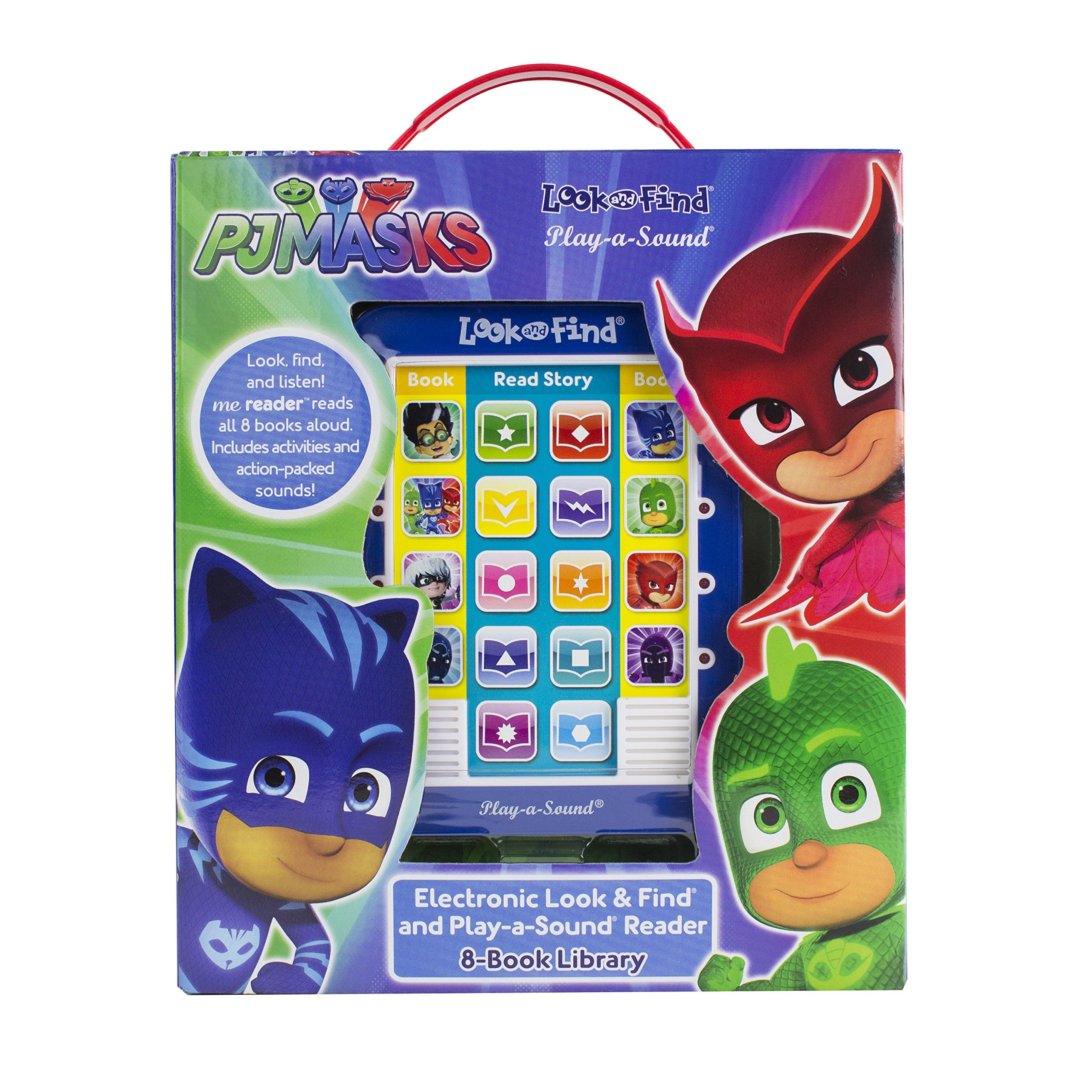 PJ Masks - Me Reader 8 Book Library - PI Kids: Editors of Phoenix International Publications: 9781503724419: Amazon.com: Books