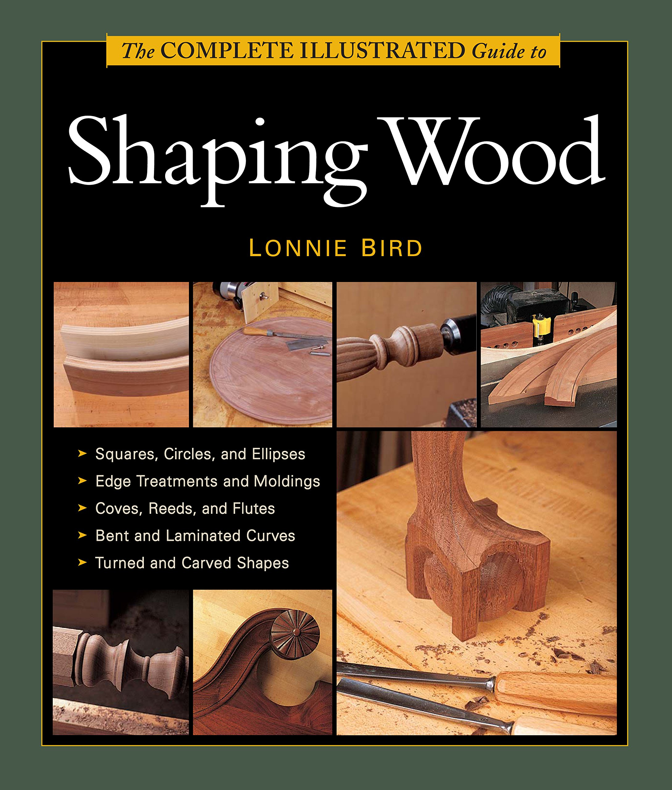 The Complete Illustrated Guide to Shaping Wood (Complete Illustrated Guides (Taunton)) pdf