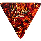 Fender 355 Shape Classic Celluloid Picks (12 Pack) for electric guitar, acoustic guitar, mandolin, and bass