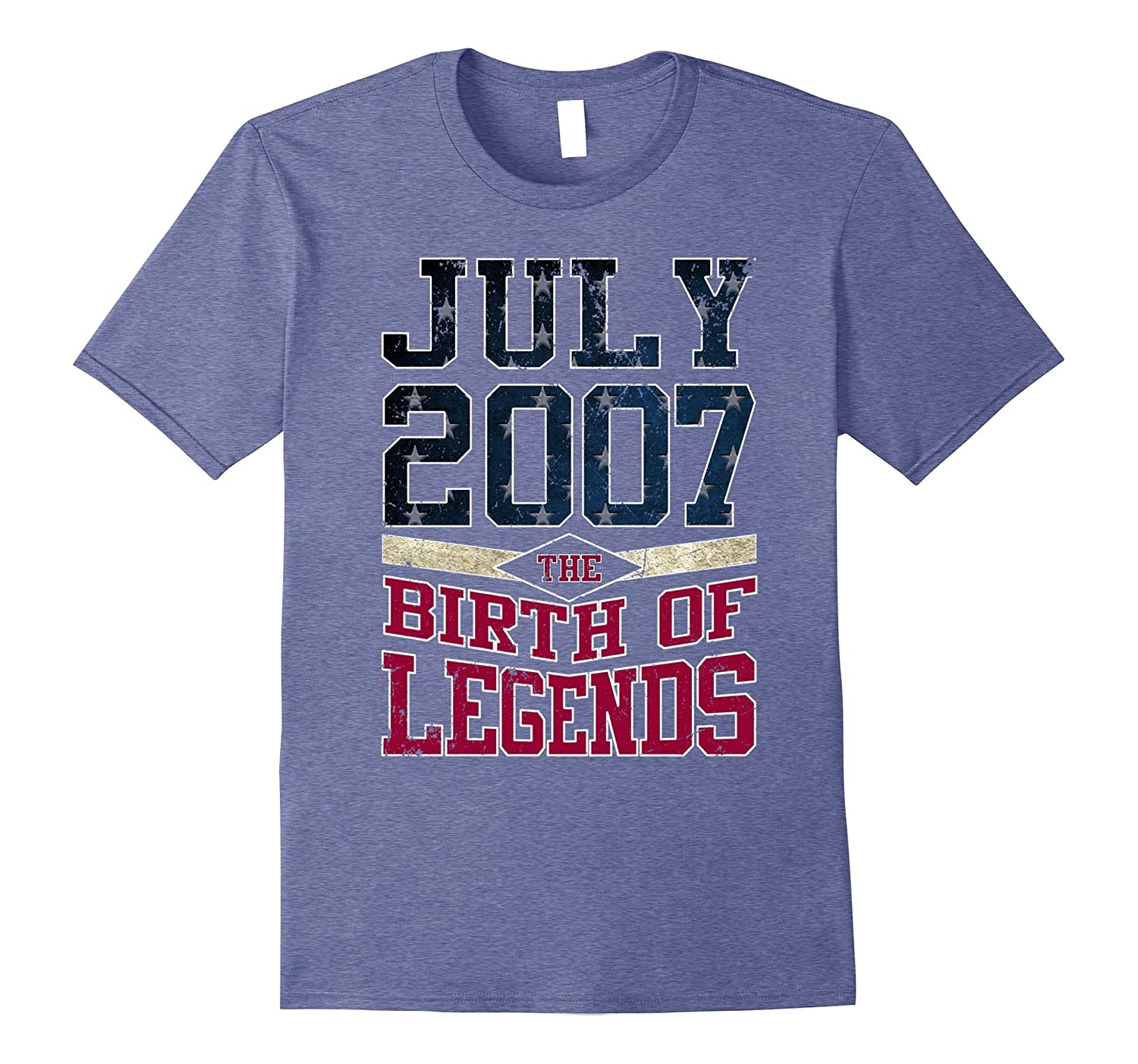 Legends Are Born In JULY 2007 Birthday Gift For 10 Years Old-BN