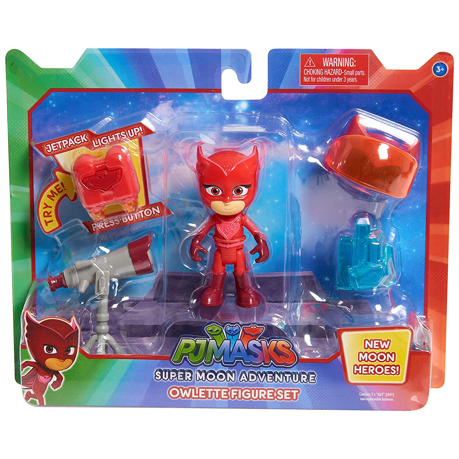 PJ Masks Super Moon Figure & Accessory Set - Catboy Just Play JPL95166