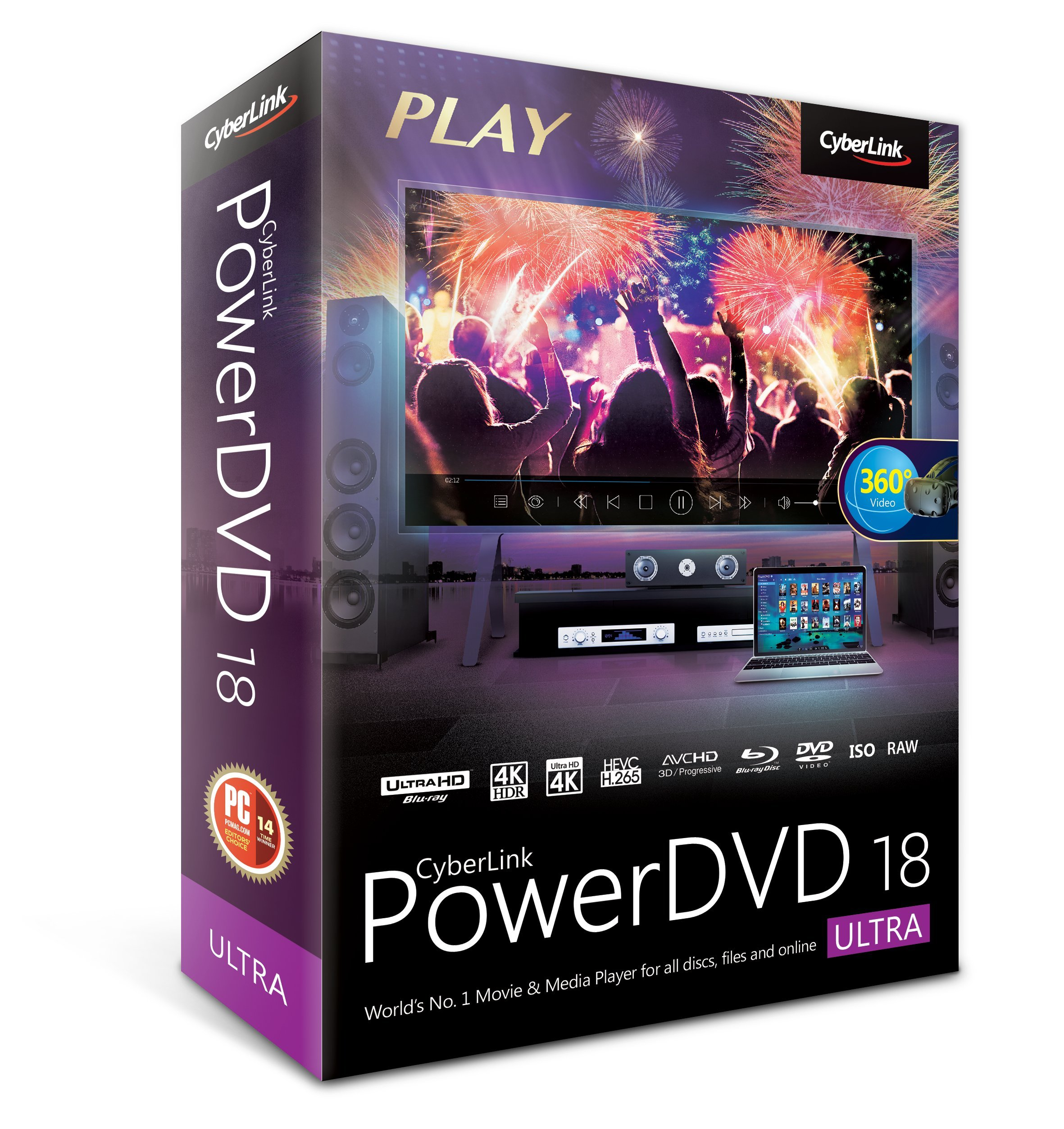Cyberlink PowerDVD 18 Ultra: Most Powerful Media Player For PCs by Cyberlink