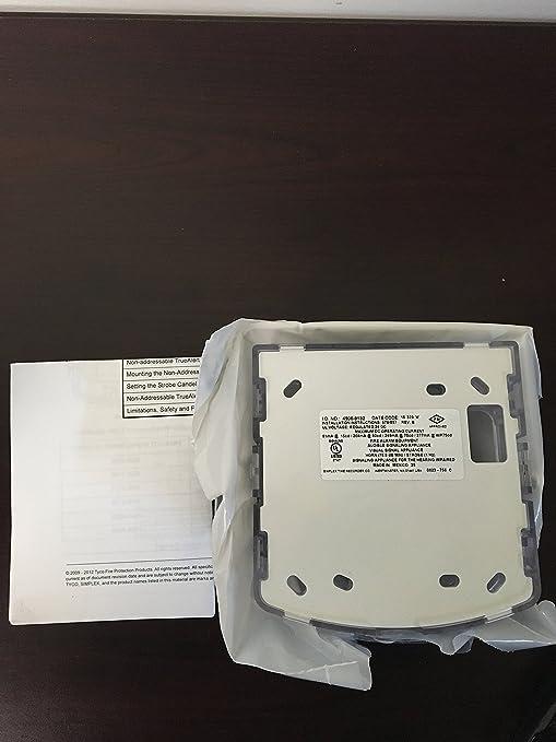 Simplex 4906 – 9132 – a/V M-C blanco Strobe Señal impermeable