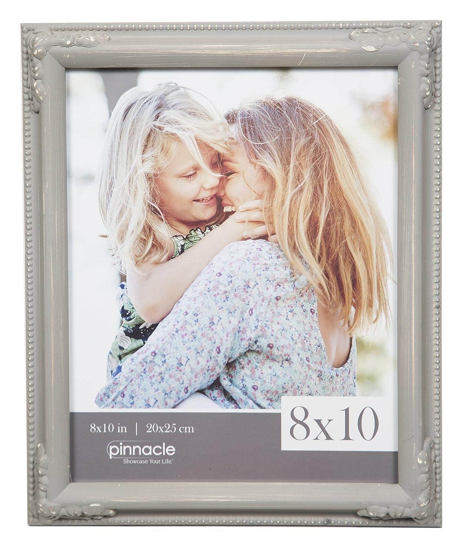 Grey Pinnacle Frames and Accents 8X10 GREYWASH Ornate Frame