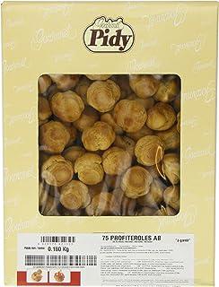 Pidy Round Profiterole Choux Pastry Golden Brown Colour 75 Pieces