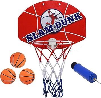 Amazon.com: Slam Dunk Mini juego de aros de baloncesto ...