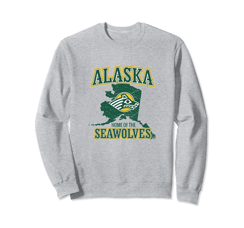 Alaska Seawolves UAA - Women's NCAA Sweatshirt PPUAA058-mt