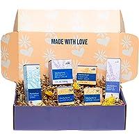 Motherlove Nurturing Life Gift Box—Great Baby Shower Gift—1 Each of: Pregnant Belly Salve (4oz), Sitz Bath Spray (2oz…