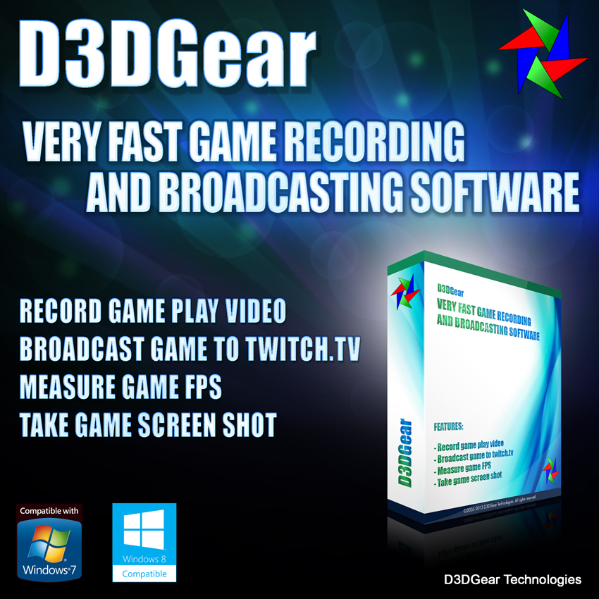 D3DGear Recording Software Streaming Download product image
