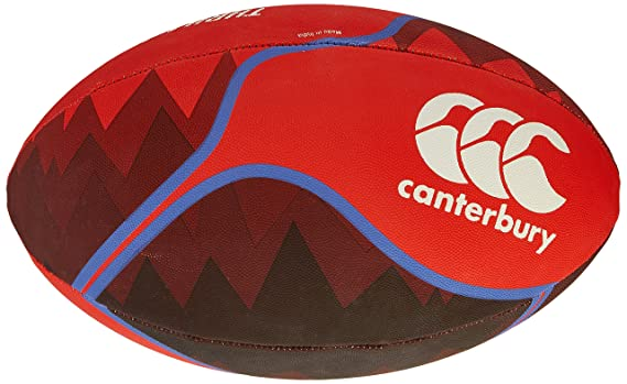Canterbury Thrillseeker balón de Rugby, Color Fiery Red, tamaño ...