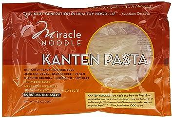 Beste Amazon.com : Miracle Noodle Kanten Instant Pasta, 0.5 oz, Zero Net RB-98