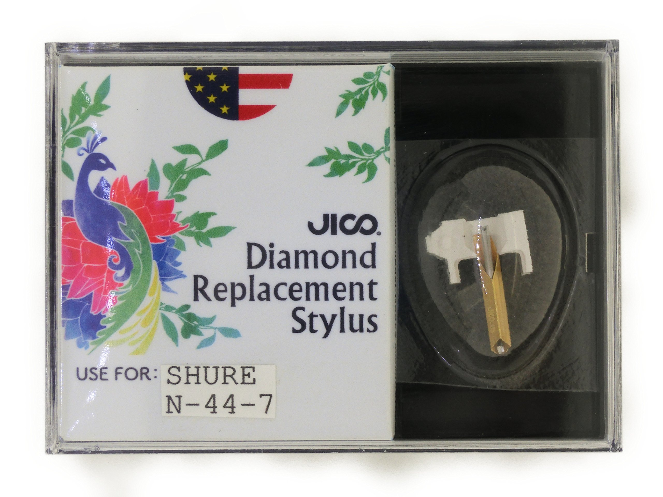 JICO 78 RPM replacement for Shure N-44-7 N44-7 stylus by Jico (Image #3)